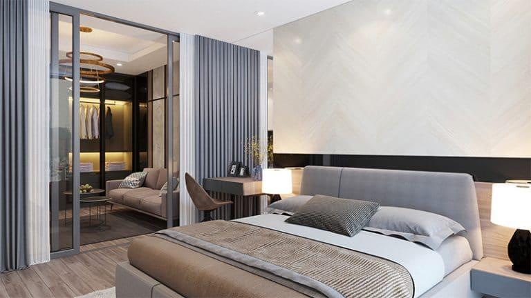 Phòng ngủ sang trọng, tiện nghi thoải mái